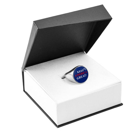 Image of Keep America Great Luxury Ring