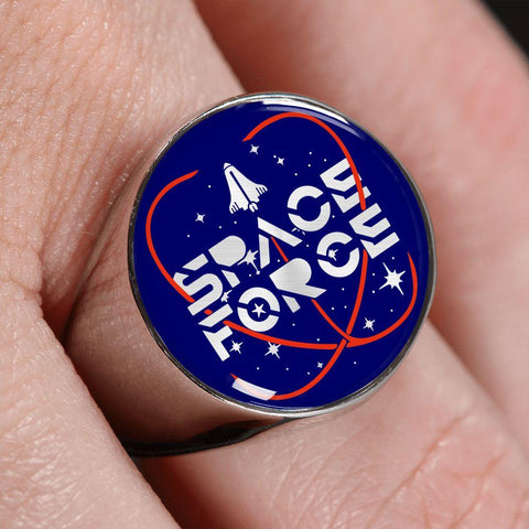 Space Force Commemorative Luxury Ring