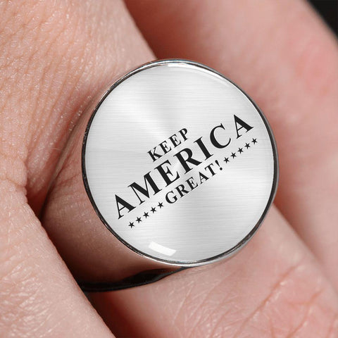 Keep America Great! Premium Unisex Ring