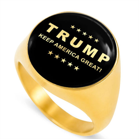 Image of Trump Keep America Great Luxury Ring