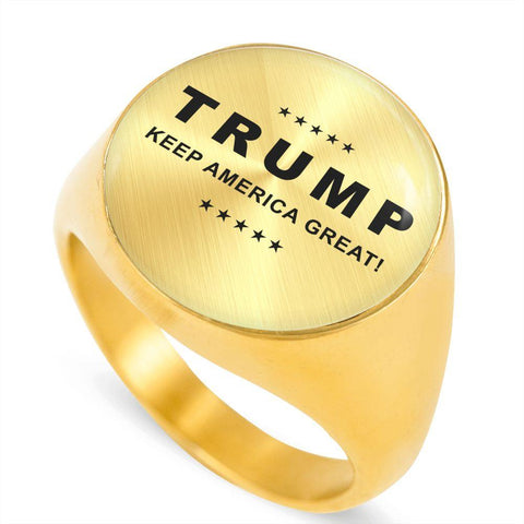 "Trump ""Keep America Great"" Luxury Ring"