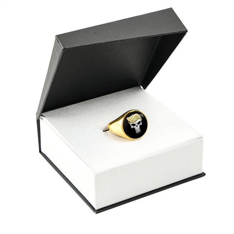 The Trump Punisher Luxury Ring 18K Gold Finish