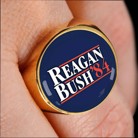 Image of Reagan Bush '84 Premium Ring