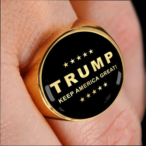 Trump Keep America Great Luxury Ring