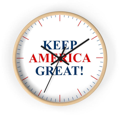 Keep America Great Wall clock