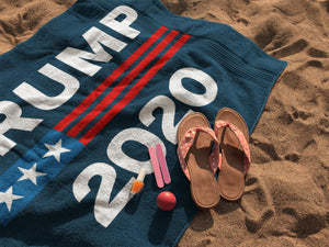 Trump 2020 Luxurious Beach Towel