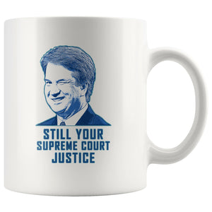 Kavanaugh Winking: Still Your Supreme Court Justice Mug