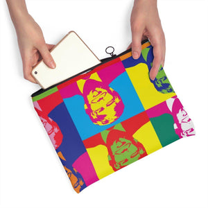 Trump Warhol Carry All Accessory Pouch - Flat
