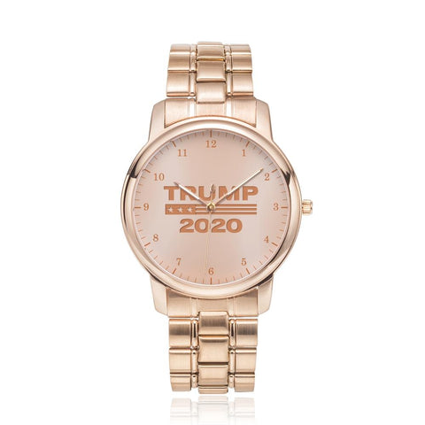 Image of Rose Gold Luxury Trump 2020 Watch