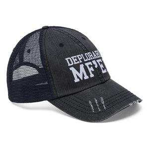 Deplorable MF'er Worn Look Trucker Hat
