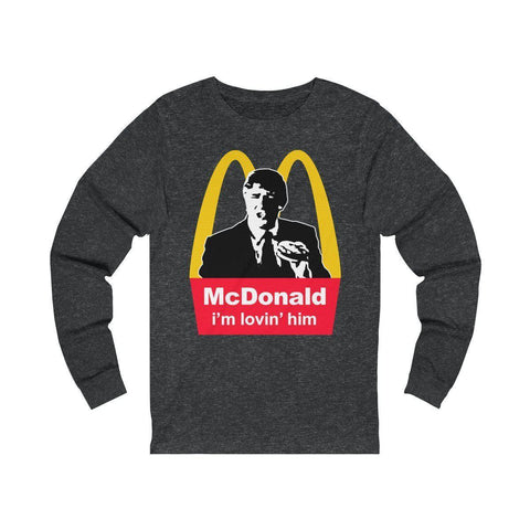 Image of McDonald: i'm lovin' him! Long Sleeve Tee