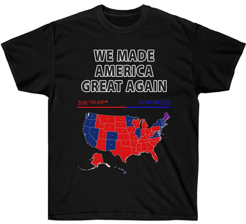 Image of We Made America Great 2016 Election Map Premium Shirt