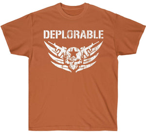 Deplorable 2nd Amendment Distressed Premium Shirt