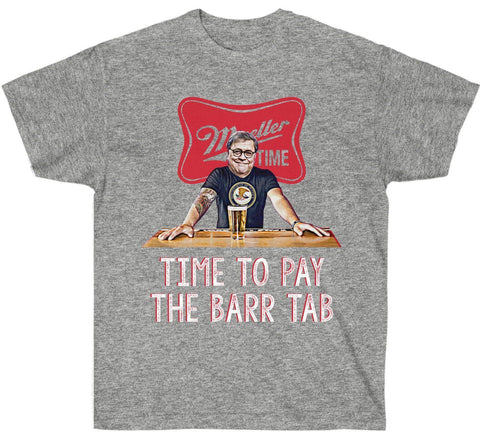Image of Time To Pay The Barr Tab Premium T-Shirt