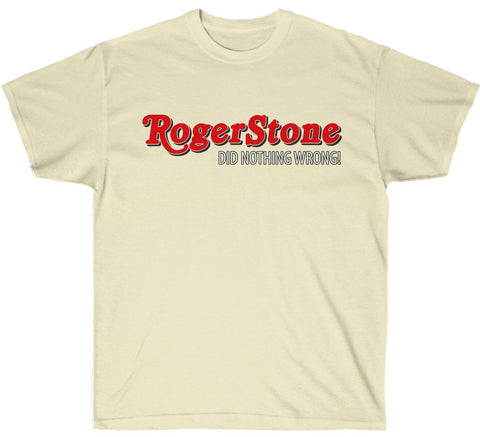 Official RogerStone Did Nothing Wrong! T-Shirt