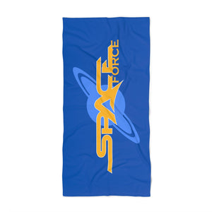 Space Force Luxurious Beach Towel