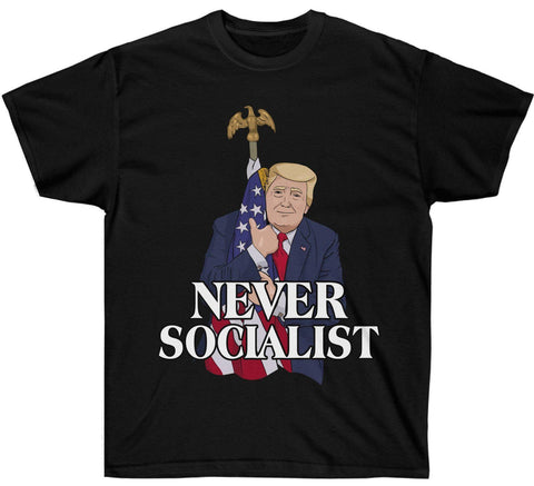 Image of Trump Never Socialist