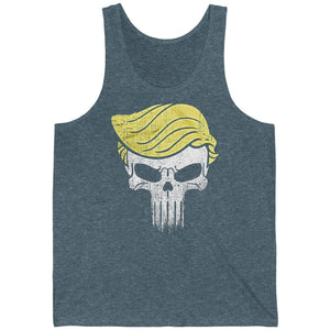 Trump Punisher Unisex Jersey Tank