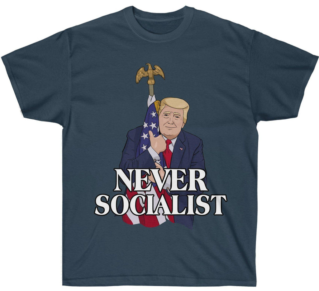 Love The Flag - Never Socialist Premium Shirt