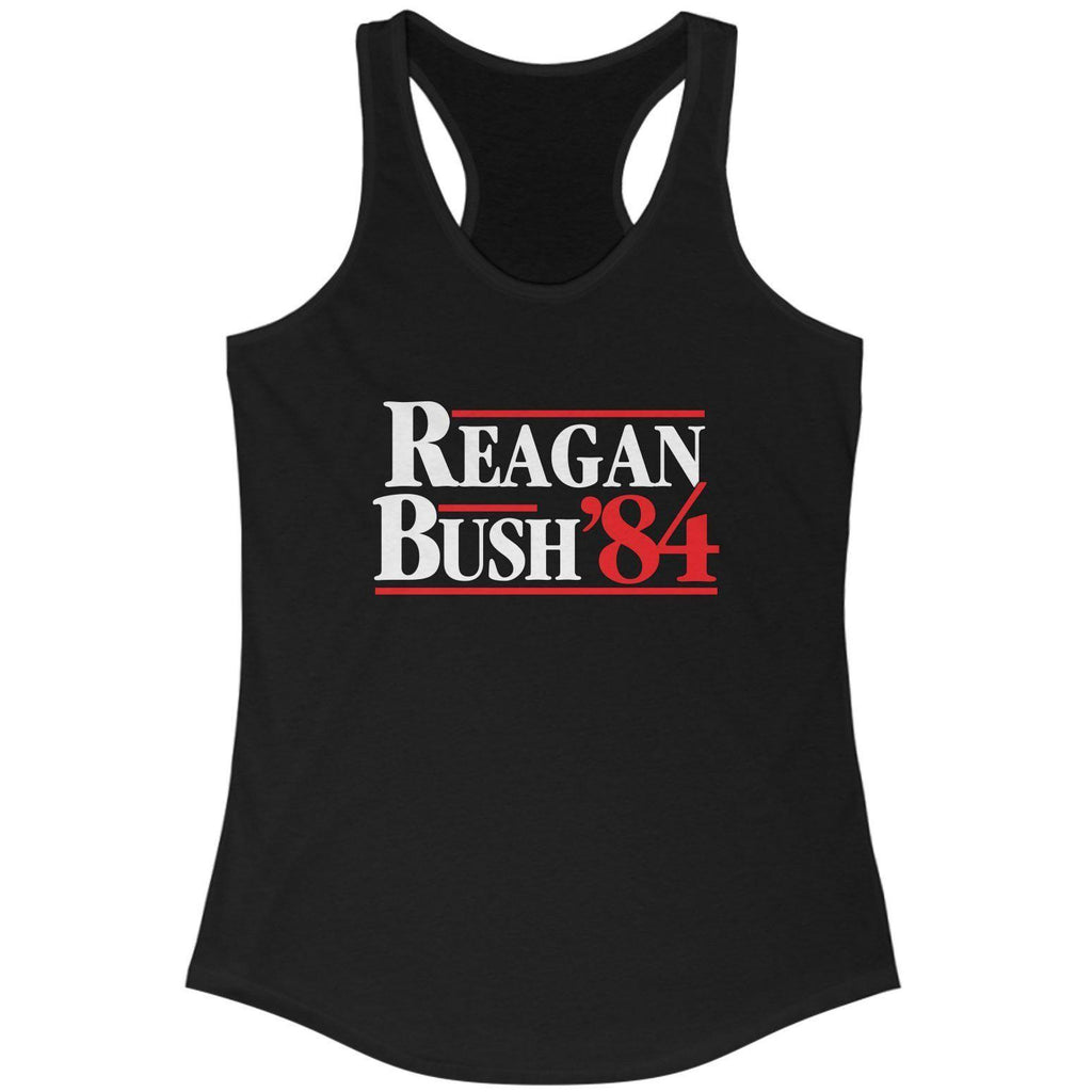 Reagan Bush '84 Women's Racerback Tank Top