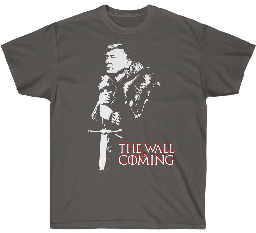 The Wall Is Coming Trump Premium T-Shirt