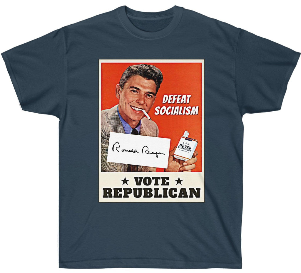 Ronald Reagan: Defeat Socialism, Vote Republican Premium T Shirt