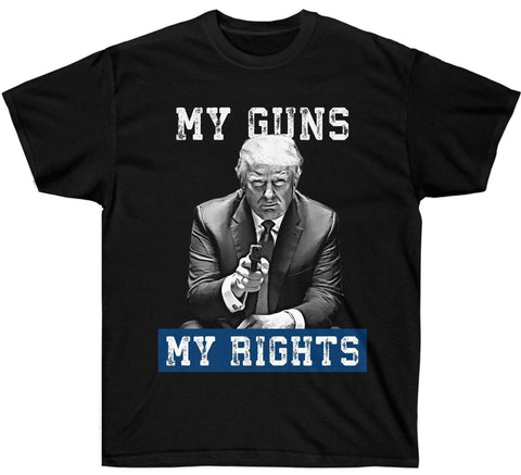 """My Guns. My Rights."" Premium Trump t Shirt"