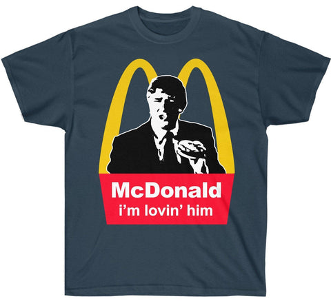 Image of McDonald: i'm lovin' him!