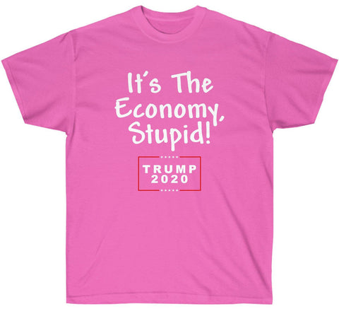 Image of It's The Economy, Stupid! Trump 2020 Premium T-Shirt