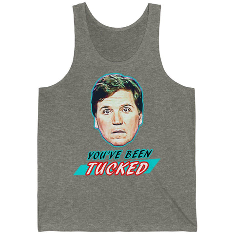 You've Been Tucked Unisex Jersey Tank