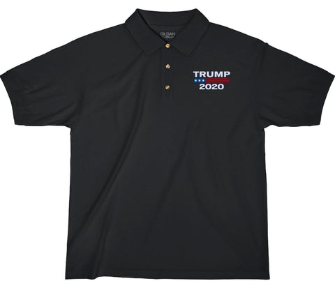 Image of Trump 2020 Embroidered Polo Shirt