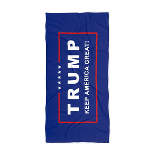 Classic Trump Keep America Great! Luxurious Beach Towel