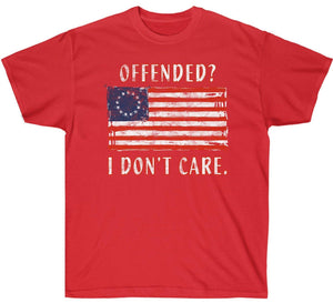 Betsy Ross 1776 Flag - Offended? I don't care Premium Shirt