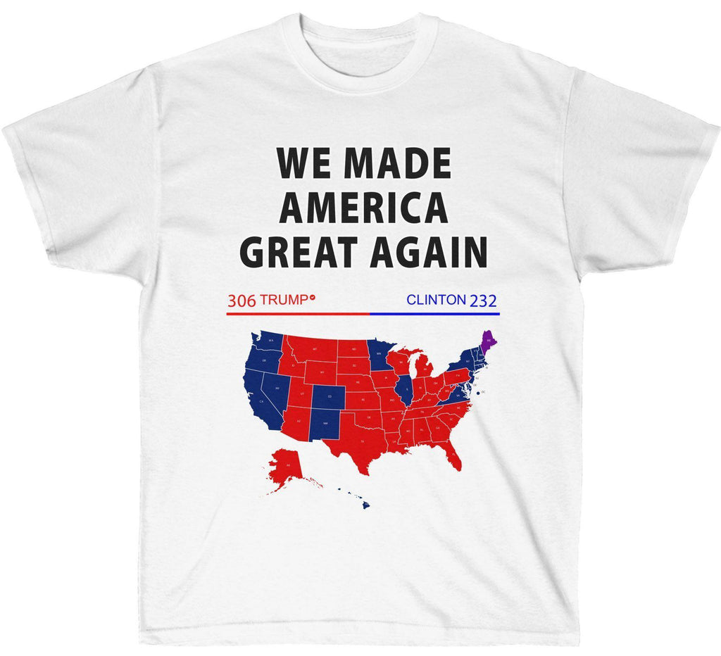 We Made America Great 2016 Election Map Premium Shirt