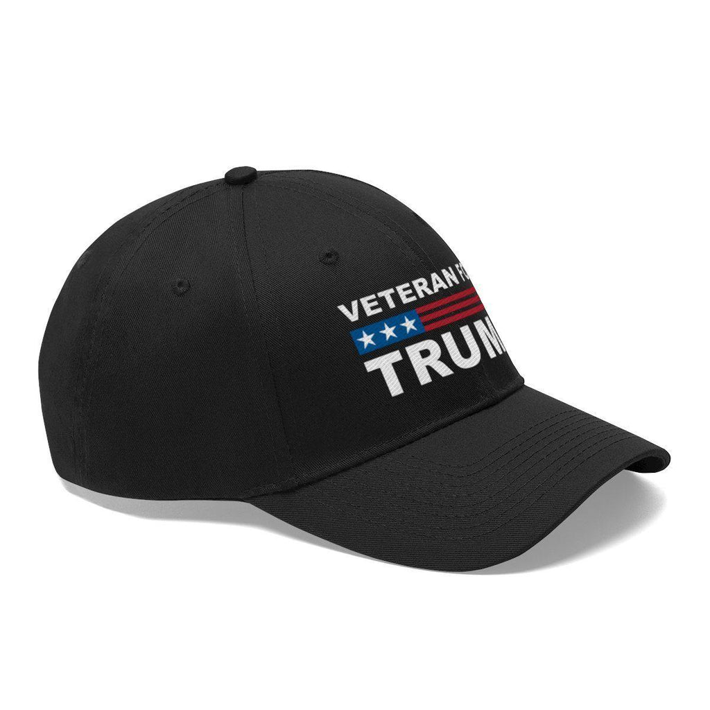Veteran For Trump Black Hat