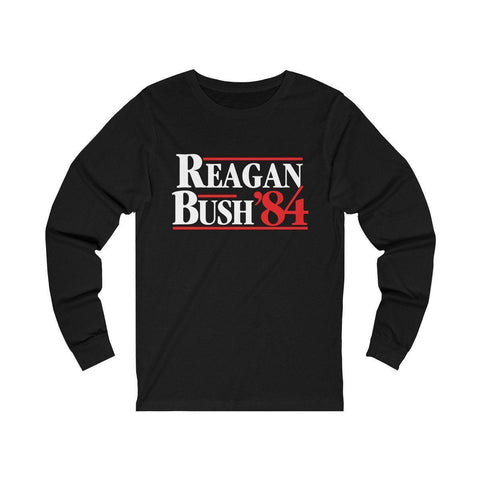 Image of Reagan Bush '84 Long Sleeve T-Shirt