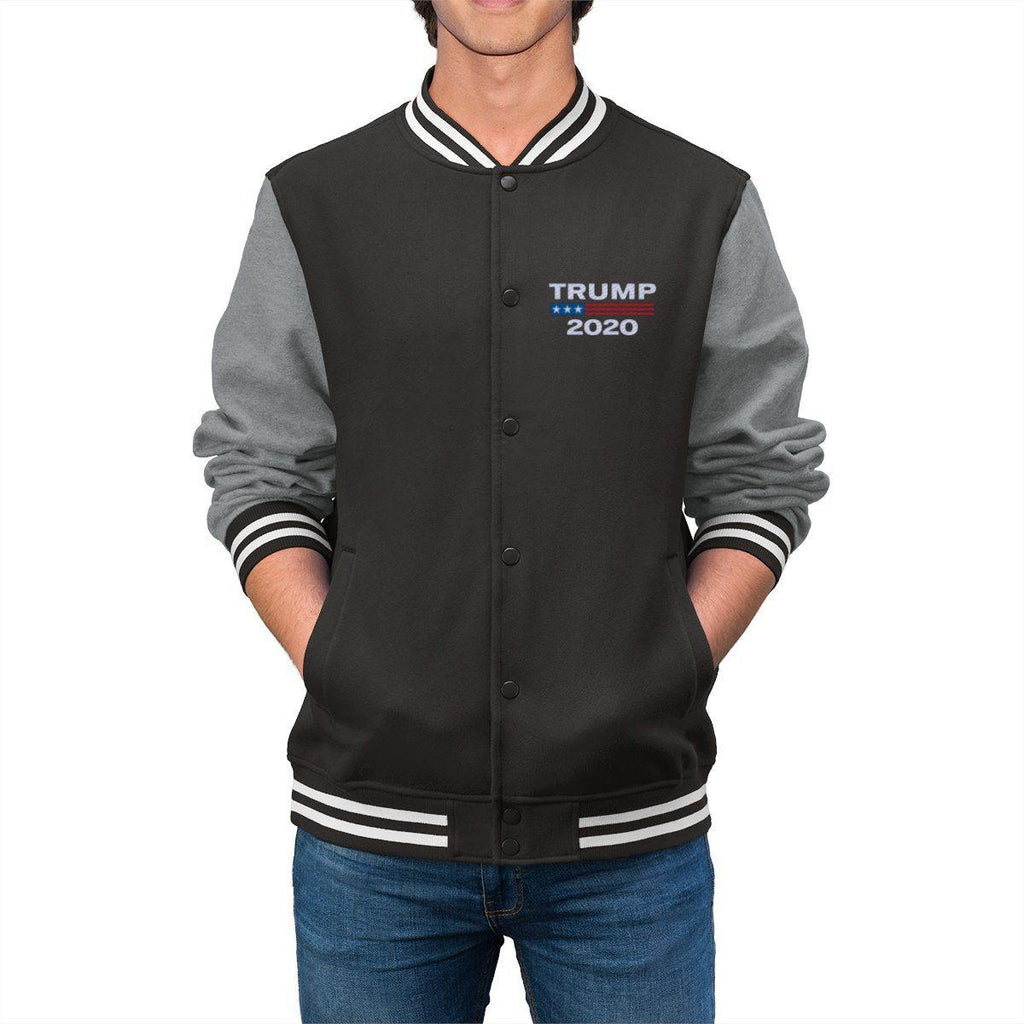 Trump 2020 Men's Embroidered Varsity Jacket
