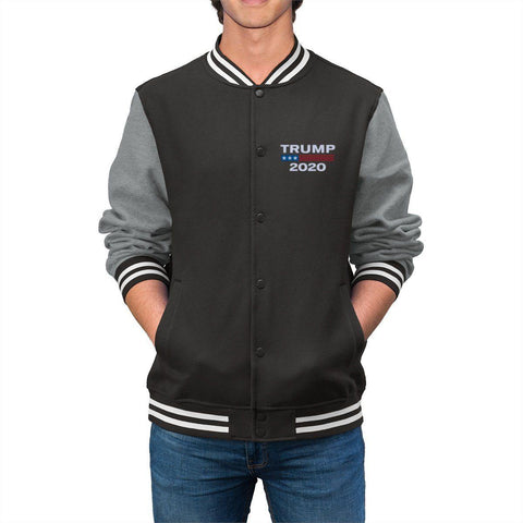 Image of Trump 2020 Men's Embroidered Varsity Jacket