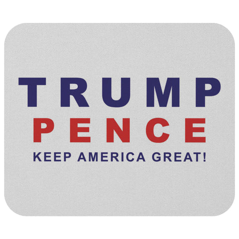 "Trump Pence ""Keep America Great!""  Mousepad"