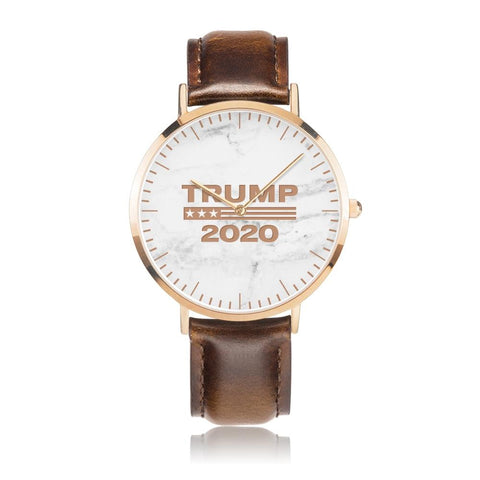 Image of Trump 2020 Watch leather