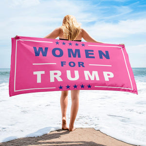Women for Trump Beach Towels