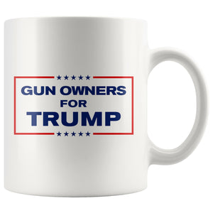 Gun Owners for Trump Mug