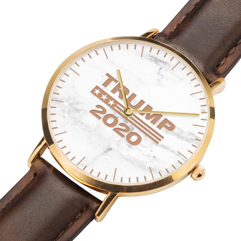 Image of Limited Edition: Ultra Premium Trump 2020 Leather Watch