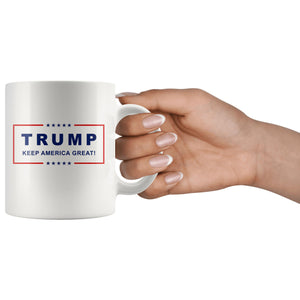 Classic Trump Keep America Great Mug