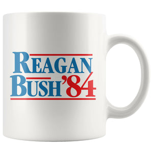 Reagan Bush '84 Classic Coffee Mug