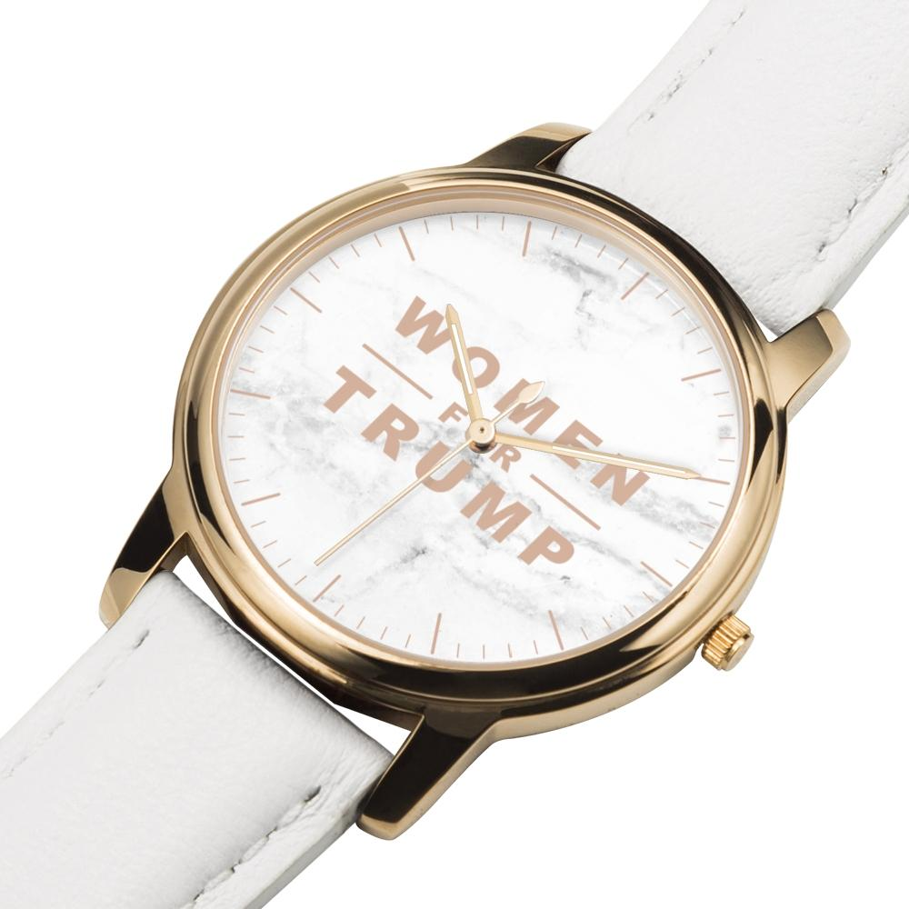 Women for Trump Rose Gold Premium Watch