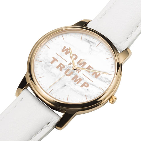 Image of Women for Trump Rose Gold Premium Watch