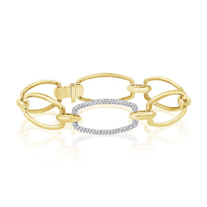 14K GOLD DIAMOND ADELLE BRACELET