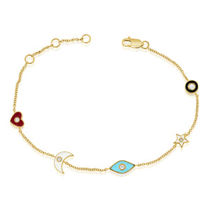 14K GOLD SALLY BRACELET