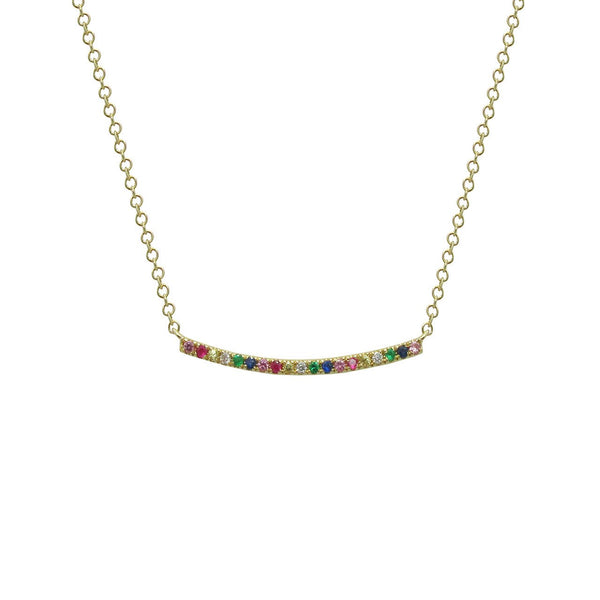 14K GOLD DIAMOND JOY NECKLACE